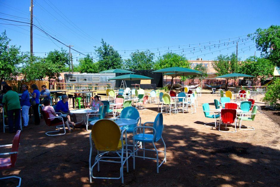 Burleson Yard Beer Garden