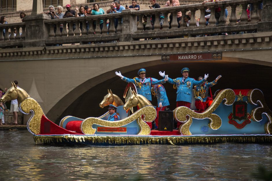 Texas Cavaliers River Parade