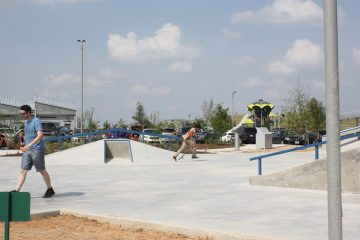Skate Park and Play Ground