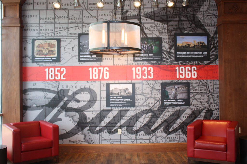 Budweiser gift shop