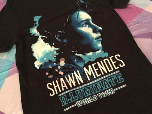 Shawn Mendes Concert T-Shirt Twentysomething Vision