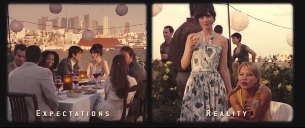 Expectation vs Reality 500 Days of Summer Twentysomething Vision