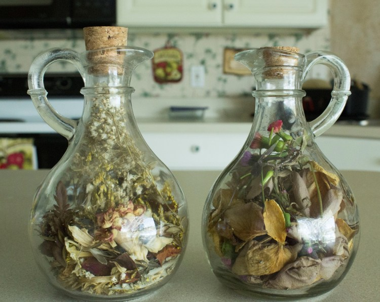 DIY Creative Project - Glass Cork Potpourri Decoration Michaels