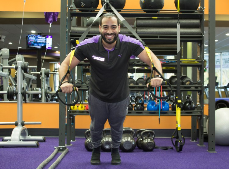 Karim Bhuiyan Anytime Fitness Ocoee Owner Gym Equipment