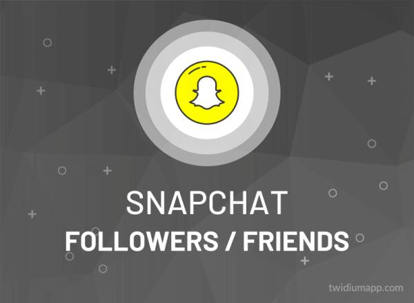Buy Snapchat Followers / Friends