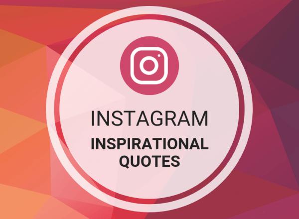 Instagram Inspirational Quotes