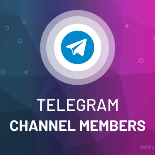 Buy Telegram Channel Members