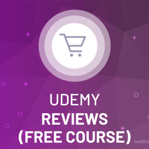 Buy Udemy Reviews (Free Course)