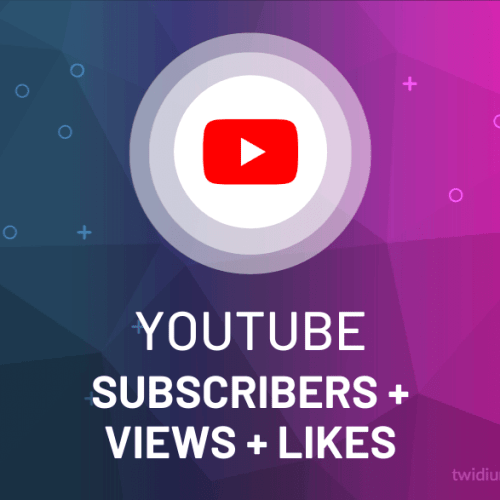 Buy YouTube Subscribers + Views + Likes