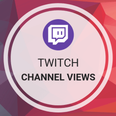 Twitch Views (channel) - 1000 Twitch Channel Views