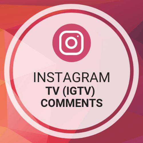 Instagram TV (IGTV) Comments