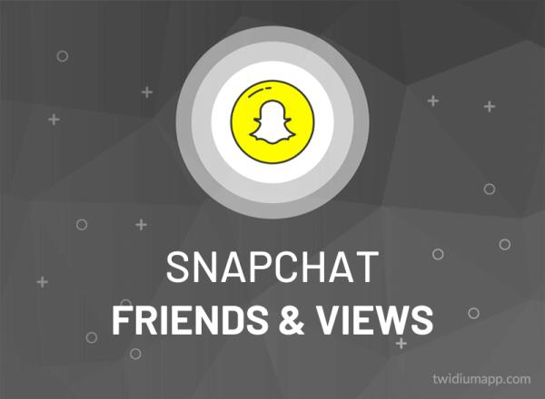 Buy Snapchat Friends & Views