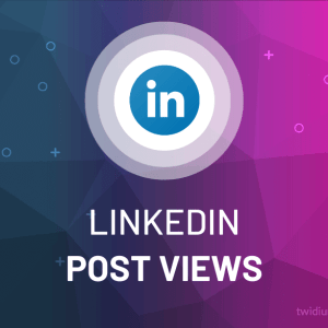 Buy LinkedIn Post Views