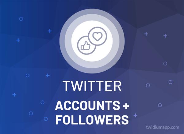 Buy Twitter Account (Aged, PVA) & Followers