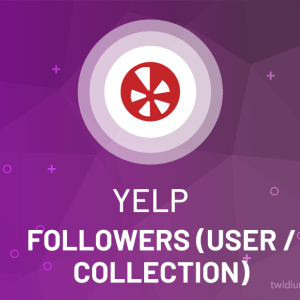 Buy Yelp Followers (User/Collection)