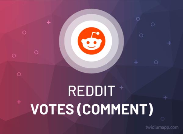 Buy Reddit Upvotes / Downvotes Comment