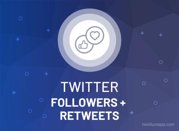 Buy Twitter Followers & Retweets