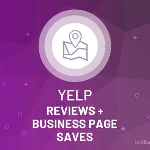 Buy Yelp Reviews + Business Page Saves