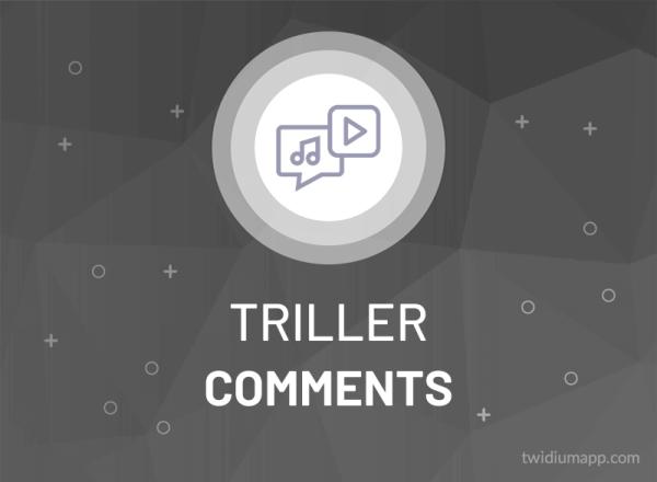 Buy Triller Comments