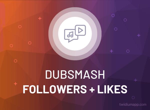 Buy Dubsmash Followers + Likes