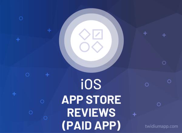 Buy App Store Reviews (Paid App)