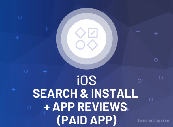Buy iOS Search & Install + App Reviews (Paid App)