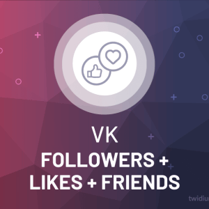 Buy VKontakte Followers, Likes & Friends