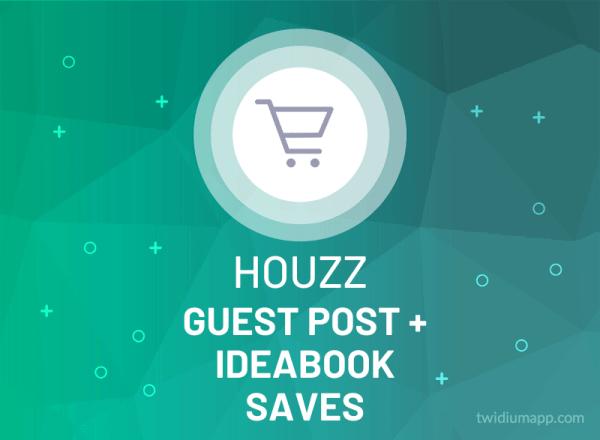 Buy Houzz Guest Post + Ideabook Saves