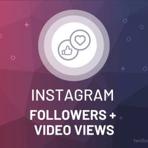 Buy Instagram Followers & Video Views