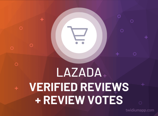 Buy Lazada Verified Reviews + Review Votes
