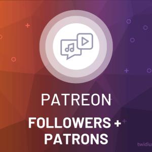 Buy Patreon Followers + Patrons
