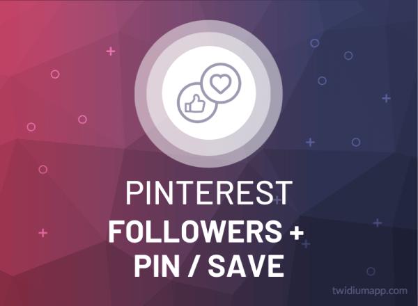 Buy Pinterest Followers & Pin/Save