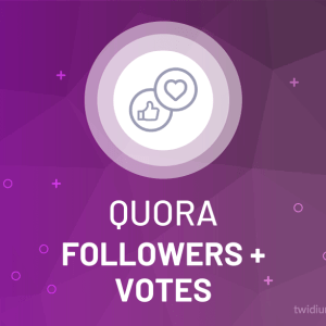 Buy Quora Followers & Upvotes/Downvotes