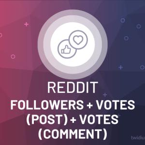 Buy Reddit Followers, Votes (Post) & Votes (Comment)