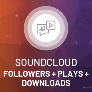 Buy SoundCloud Followers + Plays + Downloads