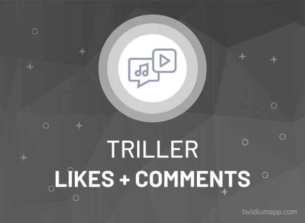 Buy Triller Likes + Comments
