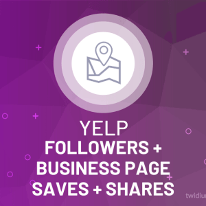 Buy Yelp Followers + Business Page Saves + Shares