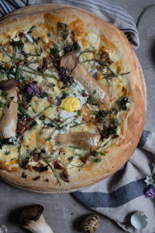 Garlic Mushroom Pizza Twigg Studios