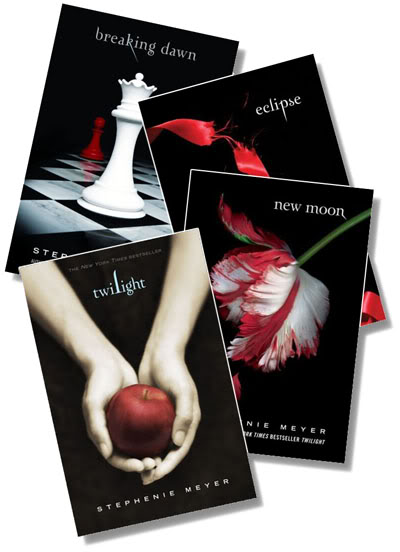 Image result for twilight saga books