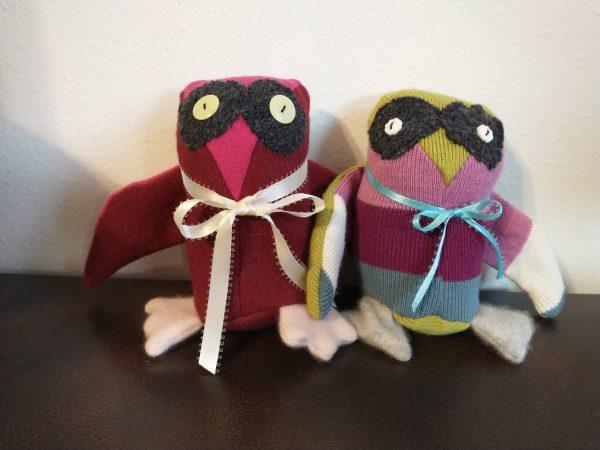Upcycled Owl Plushie