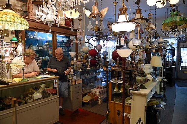 in st paul john s antiques shop owner