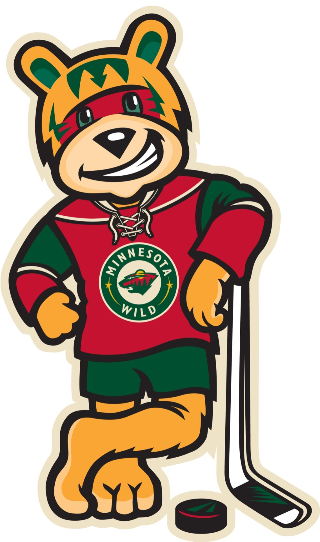 Minnesota Wild unveil 'Nordy,' their first mascot – Twin ...