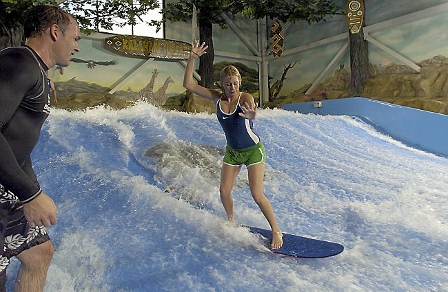Image result for wisconsin dells indoor surfing