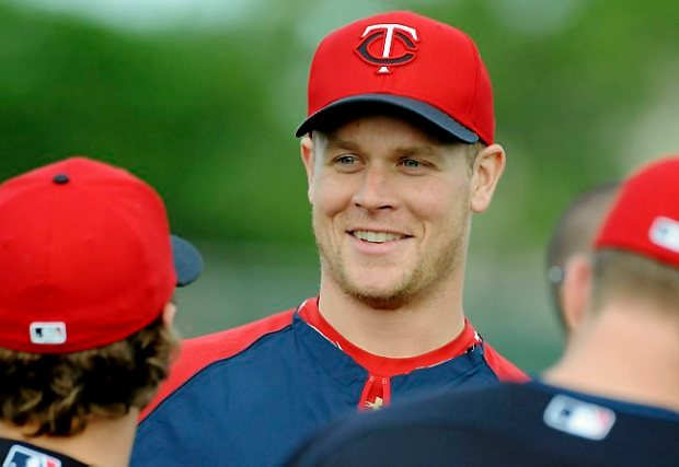Minnesota Twins Justin Morneau during Spring Training at the Lee County Sports Complex in Fort Myers, Florida, Saturday, February 16, 2013. (Pioneer Press: John Autey)