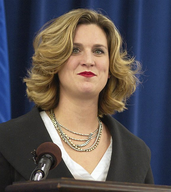 Emily Piper, Minnesota's human services commissioner (Forum News Service)
