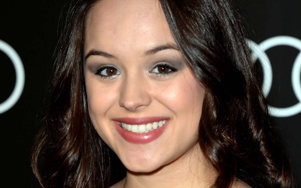 """Actress Hayley Orrantia of """"The Goldbergs"""" and a former contestant on """"The X Factor"""" is 22. (Getty Images: Jason Merritt)"""