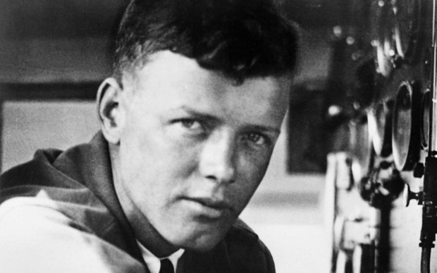 Little Falls native Charles Lindbergh -- who became an international rock star after his nonstop trans-Atlantic flight in 1927 -- was born on this day in 1902. Yes, there was that episode where he got a little friendly with the Nazis before World War II, but he redeemed himself with military service, and in the 1950s helped Americans become more comfortable with airline travel. Later, he became a conservationist and helped establish Voyageurs National Park. Lindbergh, pictured at the controls of his monoplane Spirit of St. Louis in Paris in 1927, died in 1974. (Getty Images file photo)