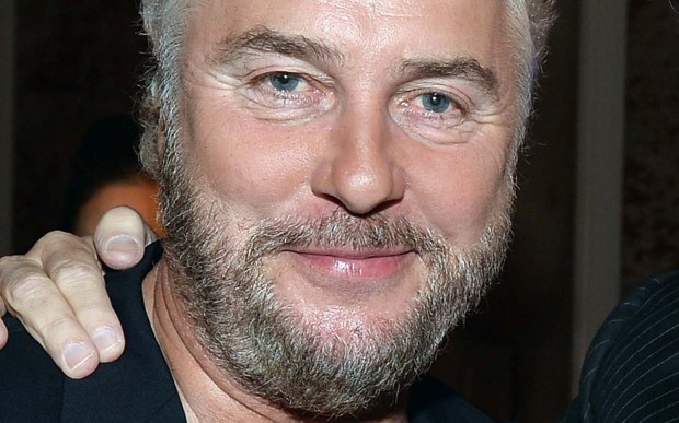 """Actor William Petersen of """"C.S.I."""" is 63. Unsure about the hand on his shoulder. (Getty Images: Alberto E. Rodriguez)"""