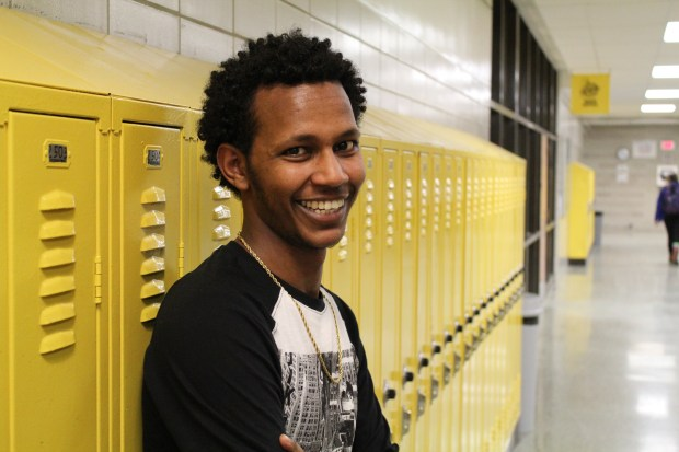 Hordofa Burka, Como High School senior and recipient of Horatio Alger Scholarship. Credit: Seth Duin, College Possible