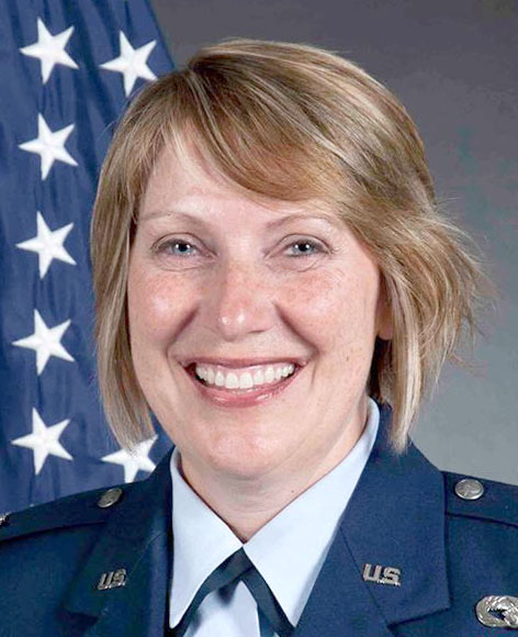 Minnesota Air National Guard Col. Sandra Best will be promoted to brigadier general on Feb. 25, 2016, becoming the first female general to serve in the Minnesota National Guard. (Photo by Minnesota National Guard via Forum News Service)